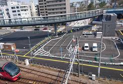 東岡崎駅道路改良