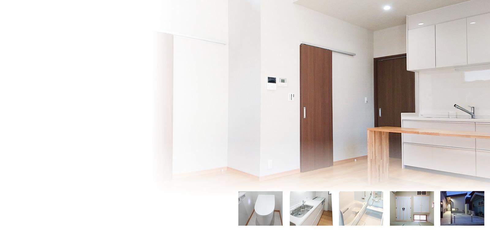 高度なコンクリート技術を持つマキ工務店だからできる人に優しい、安全のエクステリア。